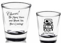 Wedding Shot glass Favors