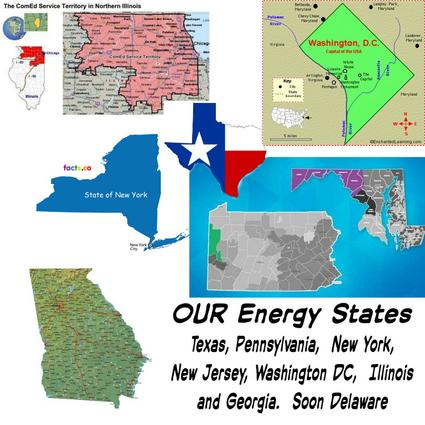eneergy savings, new york electric, new jersey electric, texas electric, pennslyvania electric