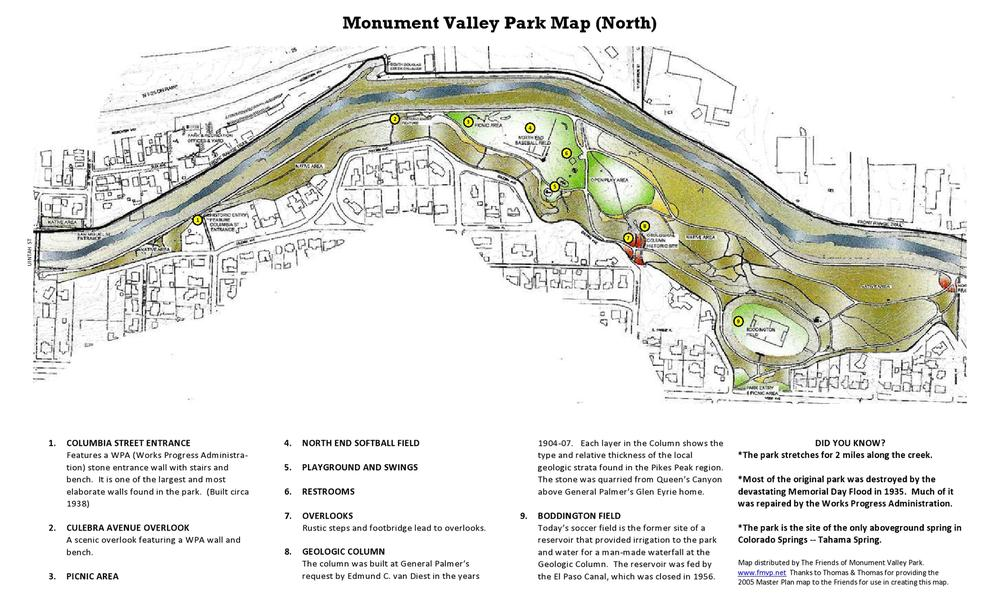 Park Maps Valley Park Map on