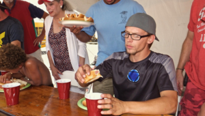 ​4th of July Hot Dog Eating Contest