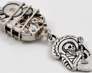 Watch Movement with Mariachi Pendant