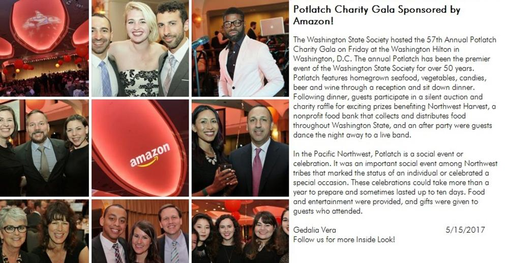 POTLATCH CHARITY GALA WITH AMAZON