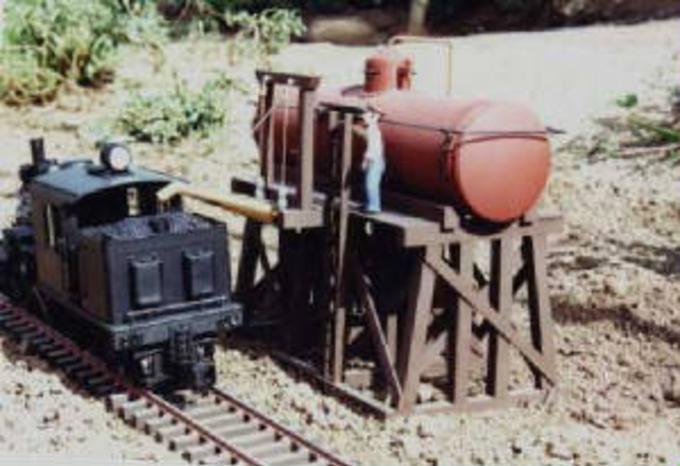9712 Water Tank Platform