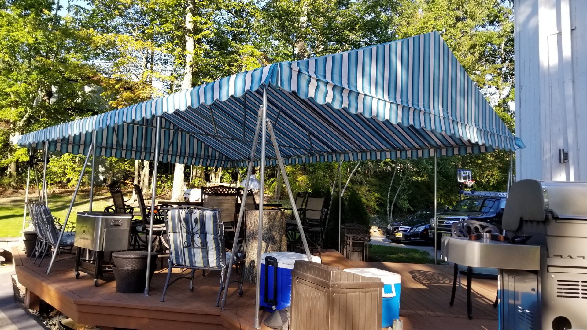 a project weathercraft with more awning installation window comfortable welcome ade yourself fa create door of nj the protect guests awnings from for in and property your