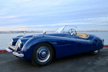 1950 Jaguar XK120 Roadster for sale at Motor Car Company in San Diego California