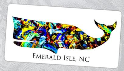 ei whale, emerald isle whale sticker, whale sticker, colorful whale art, ei ships wheel, ships wheel sticker, ships wheel art, ships wheel, dog paw, ei dog, emerald isle dog sticker, emerald isle dog paw sticker, nc spadefish, nc spadefish decal, nc spadefish sticker, nc spadefish art, nc aquarium, nc blue marlin, coastal decor, coastal art, pink joint cedar point, ellys emerald isle, nc flag crab, nc crab sticker, nc flag crab decal, nc flag ,pelican art, pelican decor, pelican sticker, pelican decal, nc beach art, nc beach decor, nc beach collection, nc lighthouses, nc prints, nc beach cottage, octopus art, octopus sticker, octopus decal, octopus painting, octopus decal, ei octopus art, ei octopus sticker, ei octopus decal, emerald isle nc octopus art, ei art, ei surf shop, emerald isle nc business, emerald isle nc tourist, crystal coast nc, art of nc, nc artists, surfboard sticker, surfing sticker, ei surfboard , emerald isle nc surfboards, ei surf, ei nc surfer, emerald isle nc surfing, surfing, usa surfing, us surf, surf usa, surfboard art, colorful surfboard, sea horse art, sea horse sticker, sea horse decal, striped sea horse, sea horse, sea horse art, sea turtle sticker, sea turtle art, redbubble art, redbubble turtle sticker, redbubble sticker, loggerhead sticker, sea turtle art, ei nc sea turtle sticker,shark art, shark painting, shark sticker, ei nc shark sticker, striped shark sticker, salty shark sticker, emerald isle nc stickers, us blue marlin, us flag blue marlin, usa flag blue marlin, nc outline blue marlin, morehead city blue marlin sticker,tuna stic ker, bluefin tuna sticker, anchored by fin tuna sticker,mahi sticker, mahi anchor, mahi art, bull dolphin, mahi painting, mahi decor, mahi mahi, blue marlin artist, sealife artwork, museum, art museum, art collector, art collection, bogue inlet pier, wilmington nc art, wilmington nc stickers, crystal coast, nc abstract artist, anchor art, anchor outline, shored, saly shores, salt life, american artist, veteran artist, emerald isle nc art, ei nc sticker,anchored by fin, anchored by sticker, anchored by fin brand, sealife art, anchored by fin artwork, saltlife, salt life, emerald isle nc sticker, nc sticker, bogue banks nc, nc artist, barry knauff, cape careret nc sticker, emerald isle nc, shark sticker, ei sticker