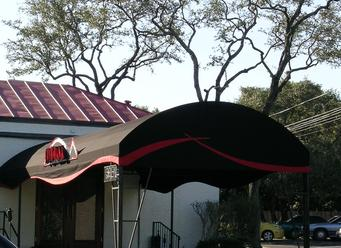 Chism Company Fabric Entry Canopies