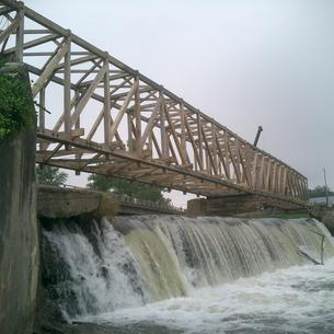 Bridgeton Covered Bridge Rebuild in Parke County, IN
