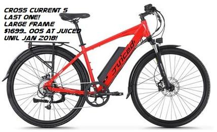 Electric Bicycle Cross Current S