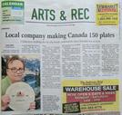Canada 150 plates in the news
