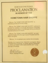 Borough of Rutledge Proclomation