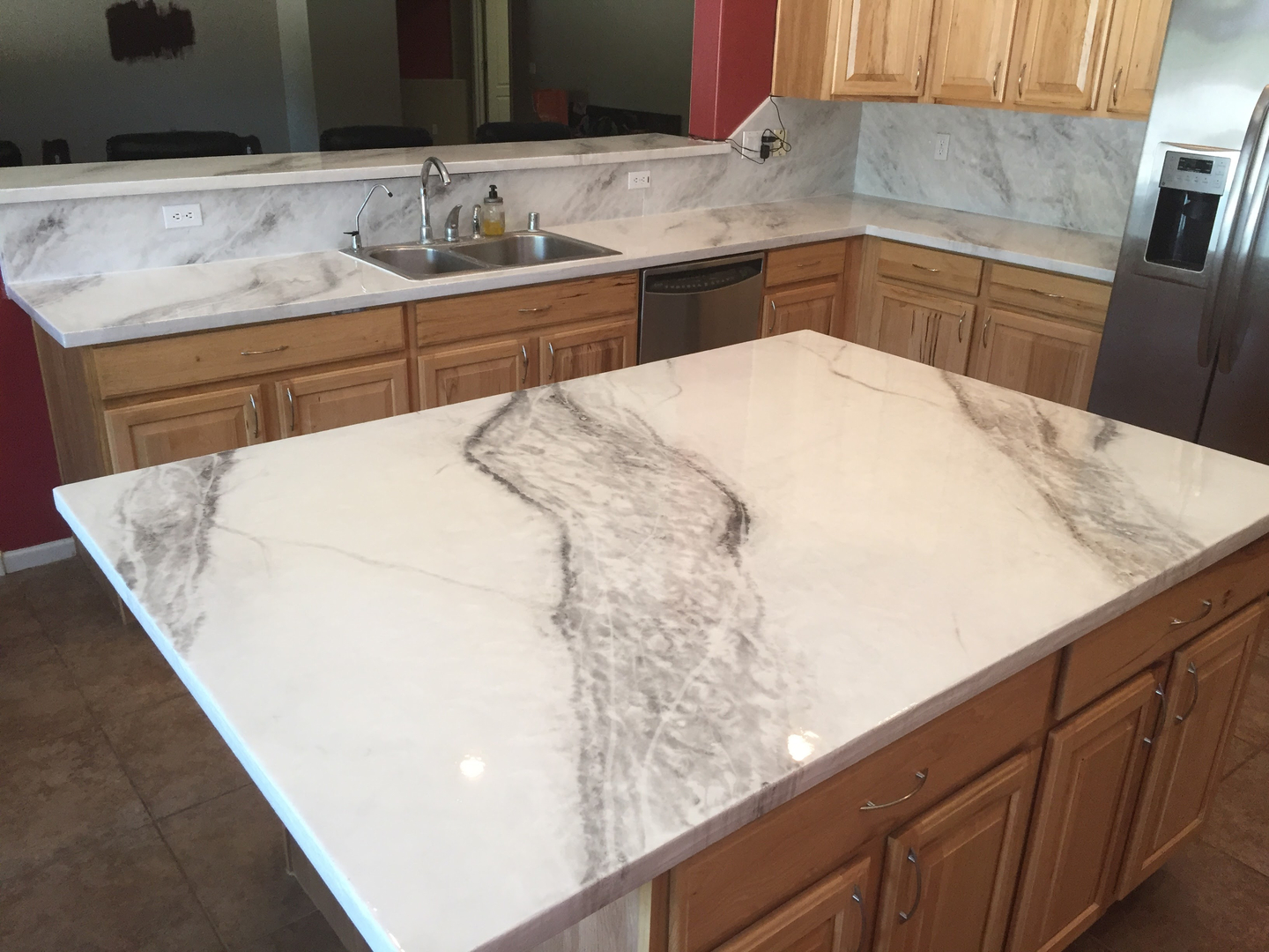 inspirations phoenix with and spring countertops trends express springs countertop well white cabinet also goes color colors picture what gallery pictures granite