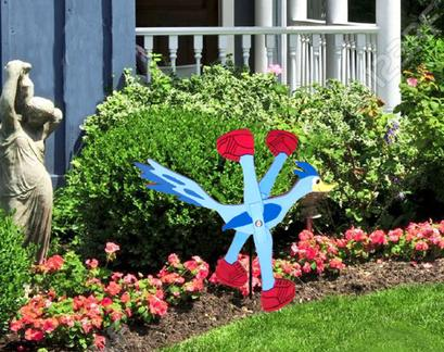 Road Runner Whirligig