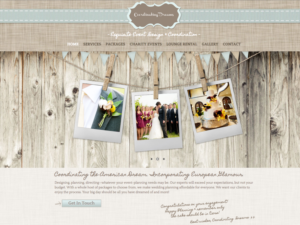 Coordinating Dreams ~ Preferred Vendor Castle McCulloch