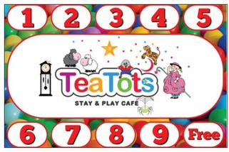 TeaTots Soft Play Loyalty Card