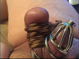 tiny dick in chastity