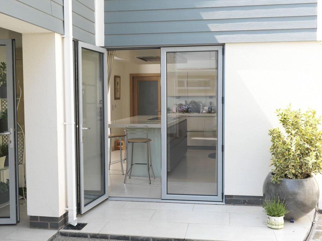 aluminium french doors in yorkshire, lancashire, uk
