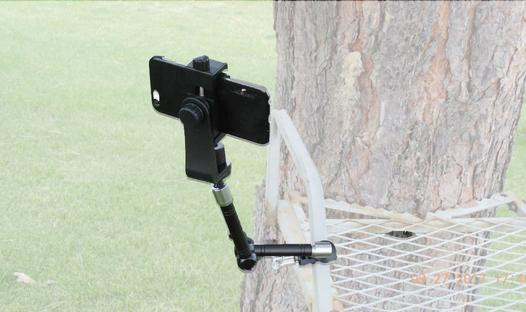Tree Stand cell phone holder