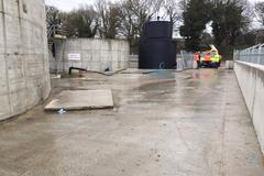 Leachate treatment plant, Ovenden Allworks, Case study