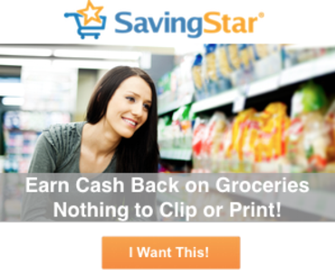 SavingStar Earn Cash Back On Groceries