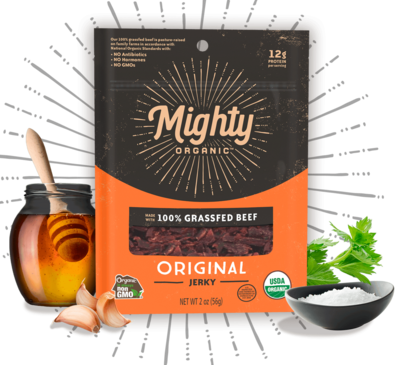 Mighty Organic Jerky