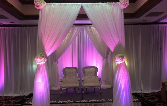 Wedding Canopy in Houston, Decor by Dulce