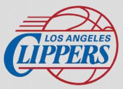 Los Angelese Clippers Cross Stitch Chart Pattern