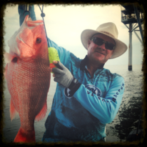 red snapper Barry Stokes Fox Sports Outdoors Gulf Shores Dauphin Island gas rig