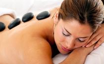 Hot stone massage is the best way to loosen tight mucles, pure relaxation