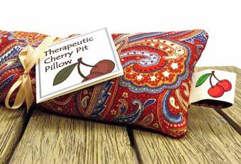 Therapeutic Cherry Pit Pillow