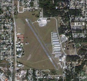 Overhead View of Arthur Dunn Airpark