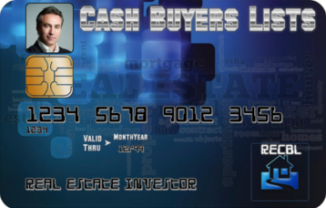 Cash Buyers Lists - Never buy a home without it!