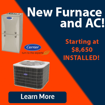 new furnace, new ac, HVAC system