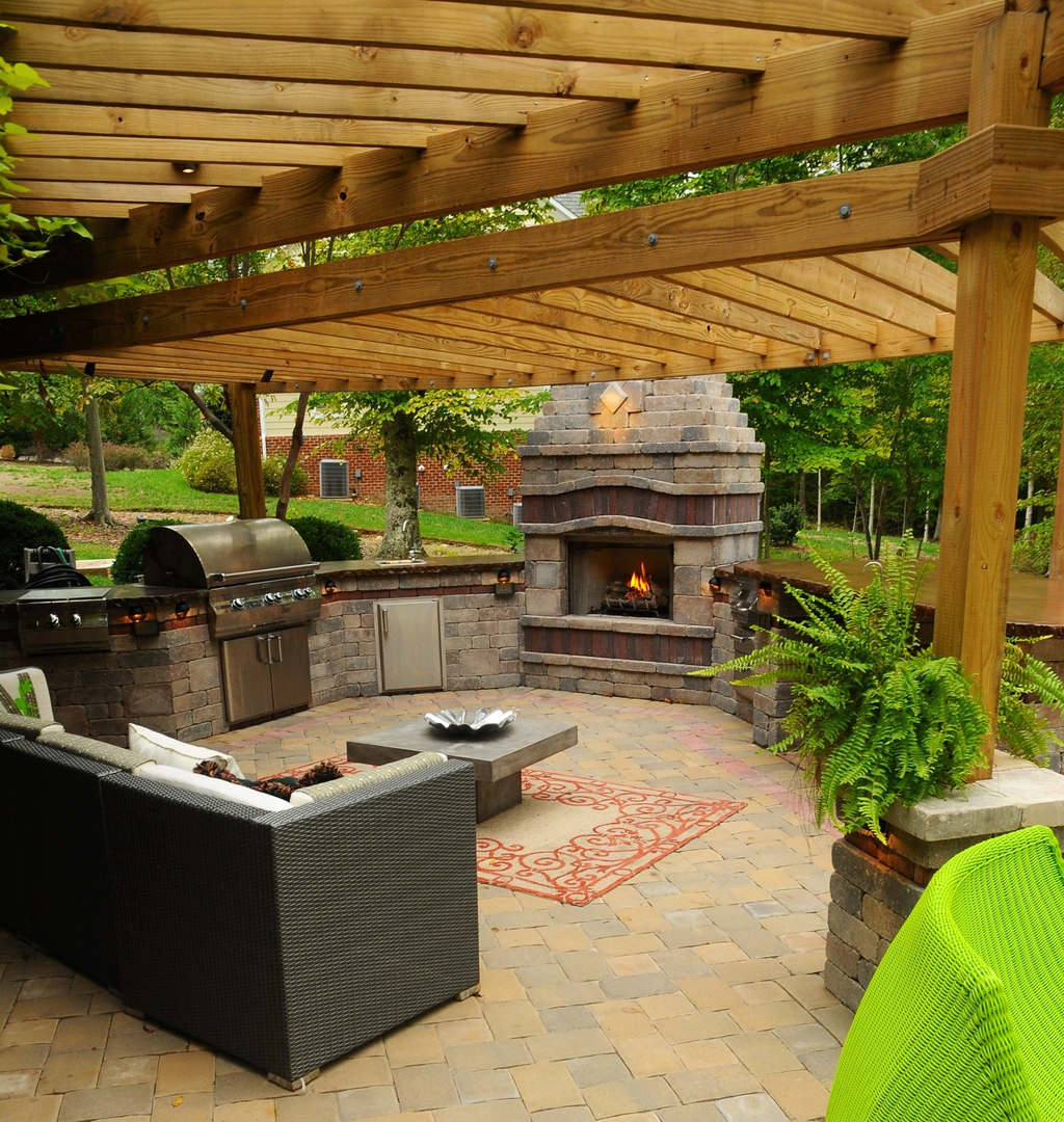 fire place and fire pits