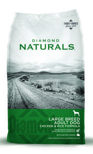 Diamond Natural Large Breed Adult with Chicken and Rice Dog Food