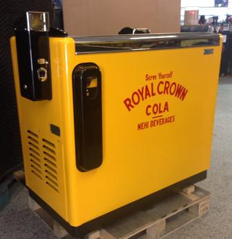 Royal Crown Ideal 85 Slider antique soda machine