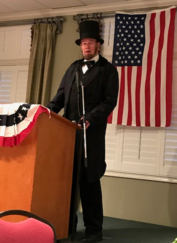 ​Candler Willis as Abe Lincoln