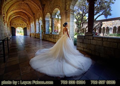 Quince Photography Miami Spanish Monastery Quinceanera Photographer