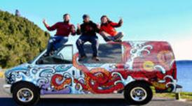 Road trip from San Francisco in a Groovy Van