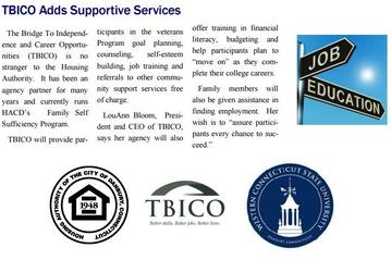 TBICO Adds Supportive Services for Veterans in WSCU Housing Program