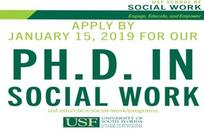 USF Social Work PhD program