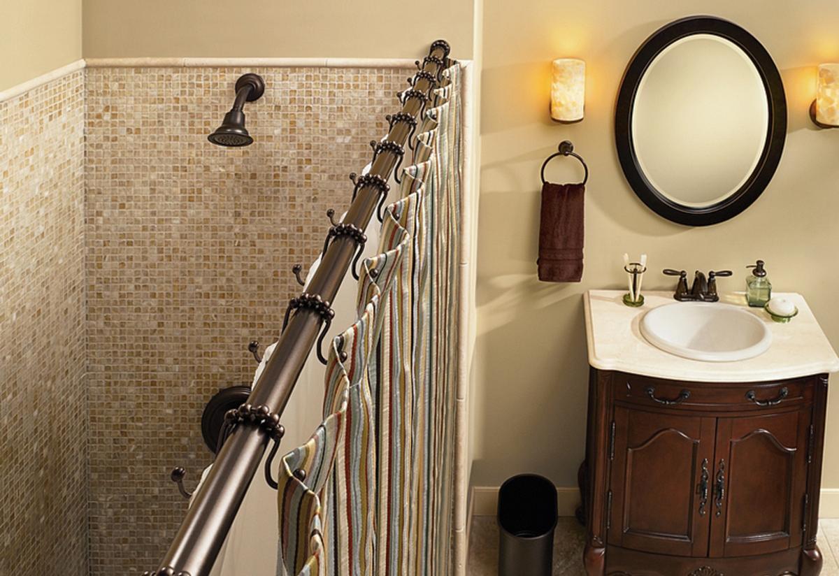 Custom Shower Rods