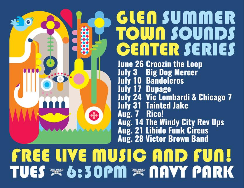 Click here for http://www.theglentowncenter.com/summer-sounds-series.html
