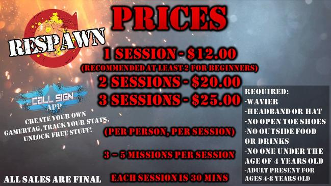 Respawn Tactical Laser Tag In Bakersfield
