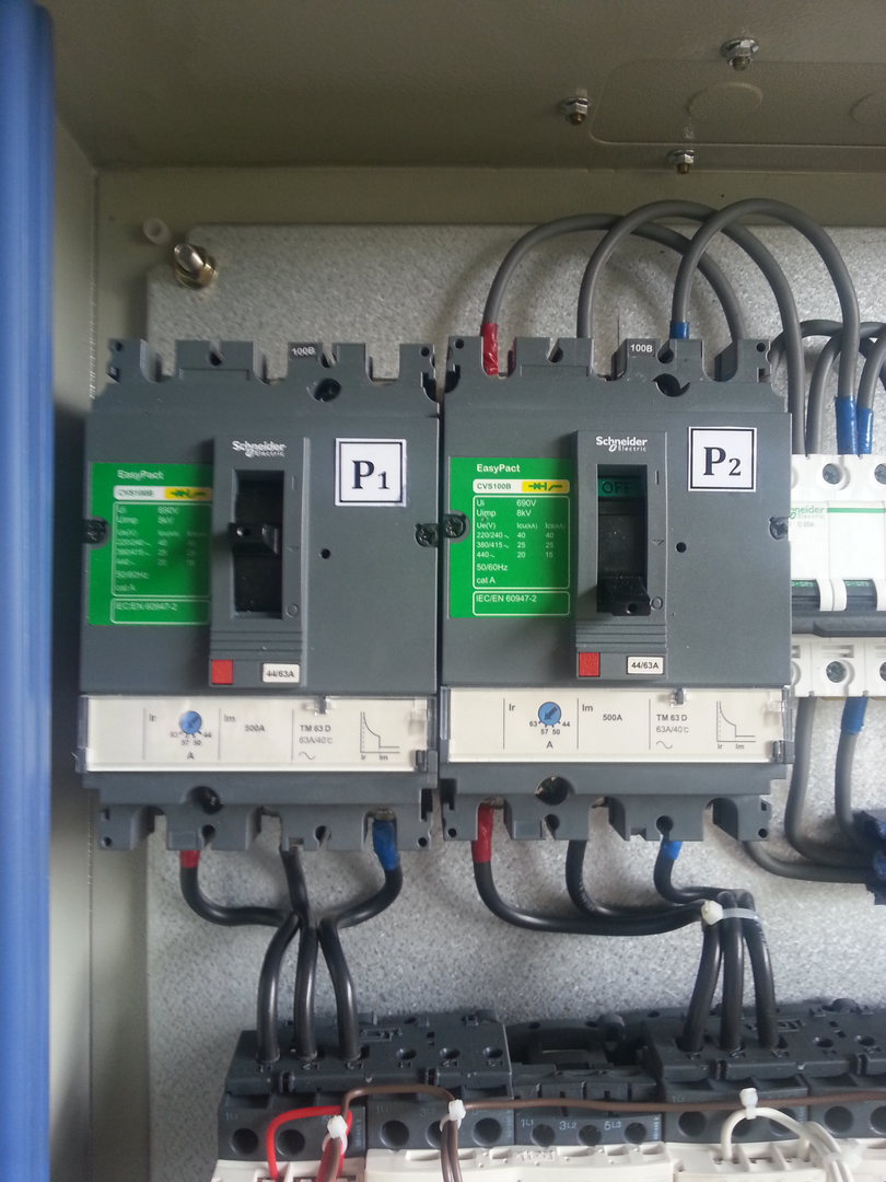 Electrical Enclosures Basic Wiring For Motor Control Panels