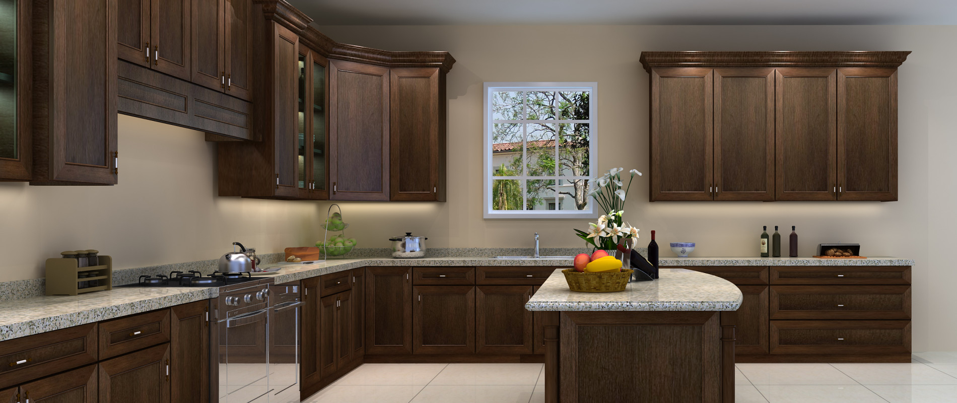 Unfinished Wall Kitchen Images Custom Cabinets Fort Worth Kraftmaid Kitchen