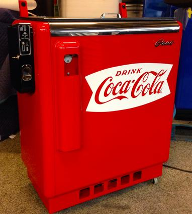 Coca-Cola Glasco Slider antique soda machine