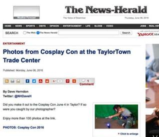 The News Herald Cosplay Con Review