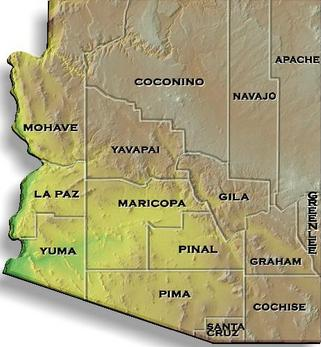 BAIL BONDS BAIL BONDS BAIL BONDS ARIZONA MAP