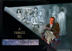 JOSEPH L. MANKIEWICZ Academy of Motion Picture Arts & Sciences Tribute Poster Illustrated by CLIFF CARSON